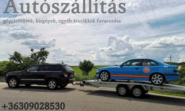 Autószállítás, Gépjármű fuvarozás Belföld 30/902-8530