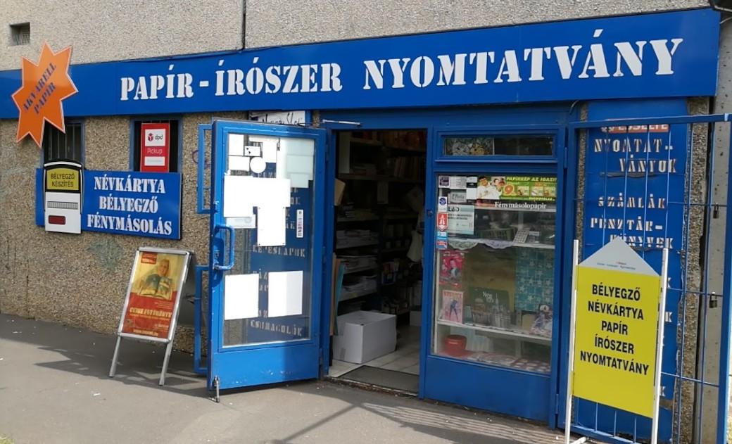 Papír, Írószer, Nyomtatvány, Irodabútor Budapest 14. kerület