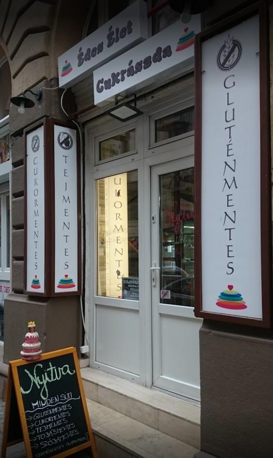 Vegán Édes Élet Cukrászda Budapest
