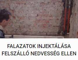 Falazatok injektálása Felszálló Nedvesség Ellen - DOMINIK BAU Kft.