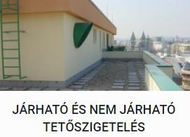 Járható és nem járható tetőszigetelés - DOMINIK BAU Kft.