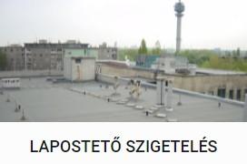 Lapostető szigetelés - DOMINIK BAU Kft.