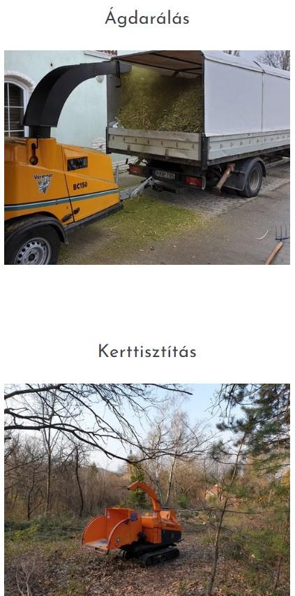 Tuskómarás, Zöldhulladék szállítás, Daruzás, Ágdaralás Budapest, Pest megye
